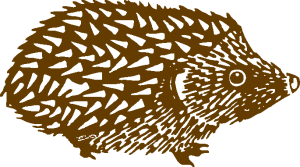 hedgehog-animal-logo
