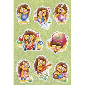 Moving eyes stickers