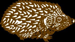 hedgehog-animal-logo